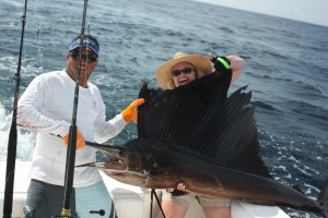 Sailfishing is the best fishing vacation idea!