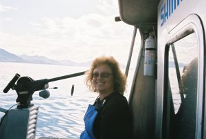 Lisa Montgomery relaxing in Alaska