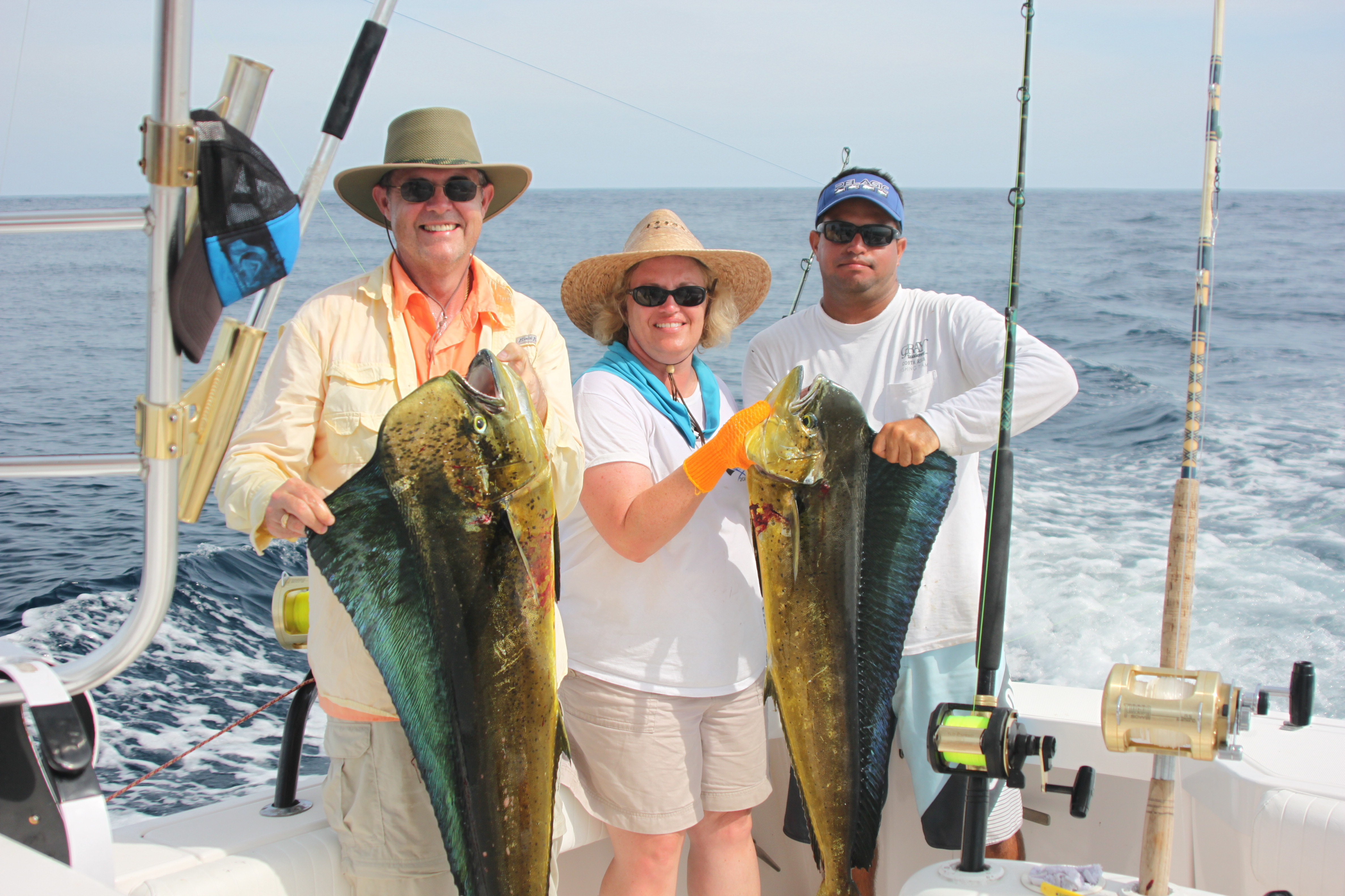 Warm water locations for Costa rica fishing packages
