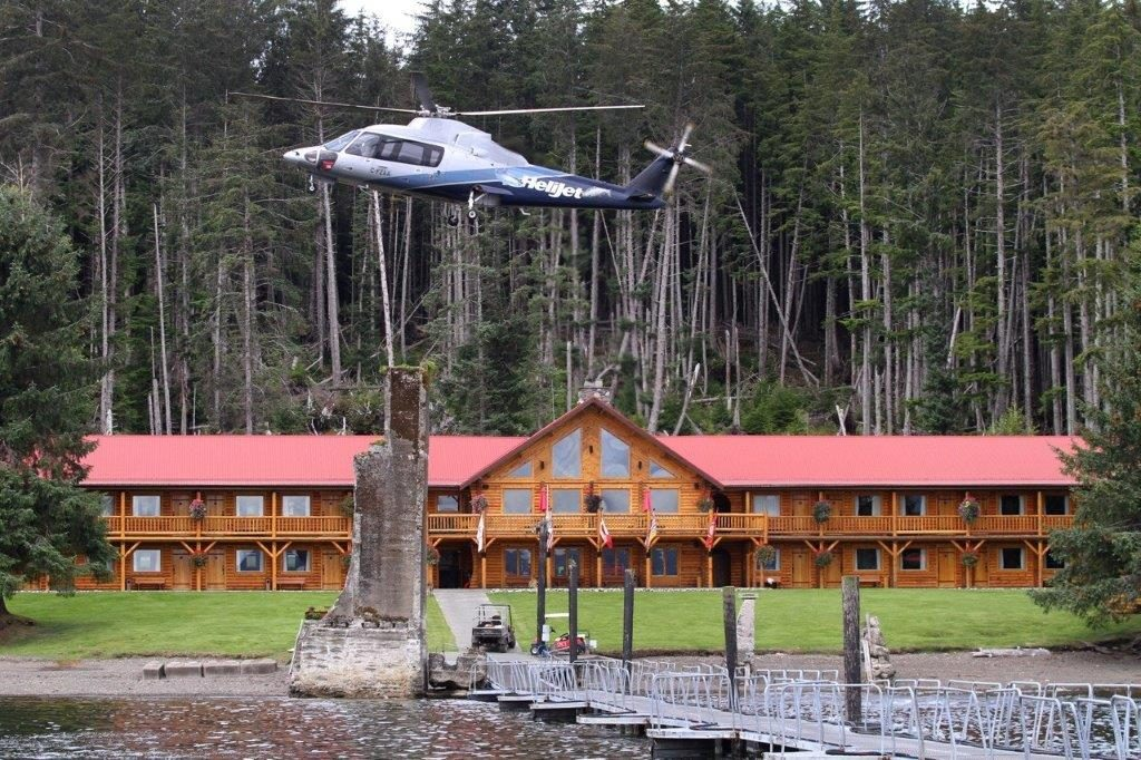 Luxuriousfishingvacations haida gwaii fishing helijet