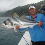 Rob Endsley with Rooster Fish