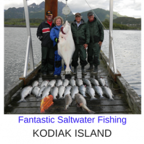 Kodiak Luxury Fishing Vacations Packages