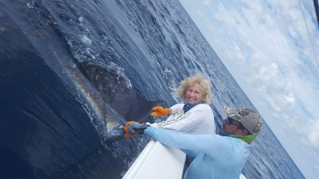 Crocodile Bay Trip Sailfish Woman