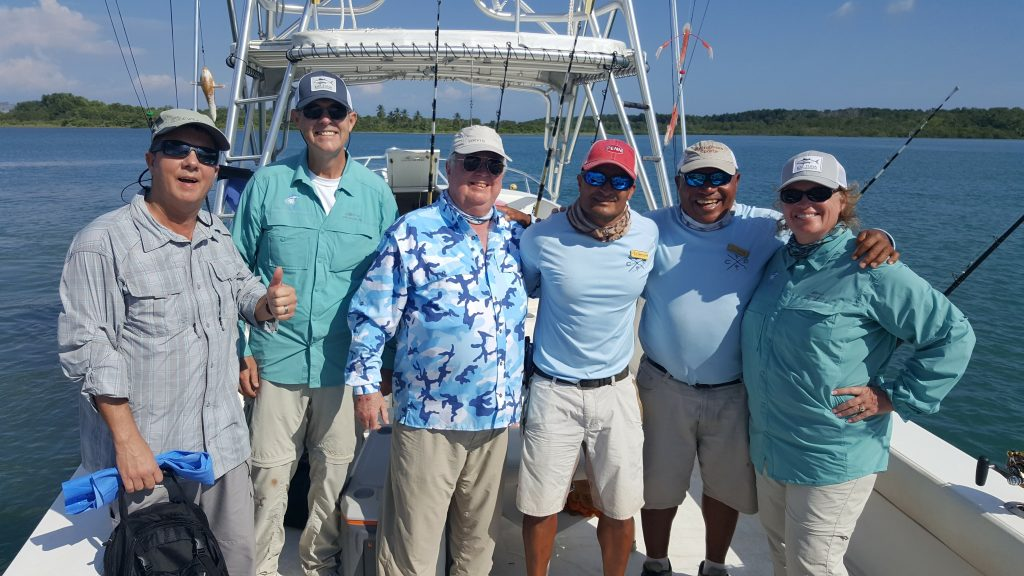 Crew and Us Costa Rica Fishing Trip