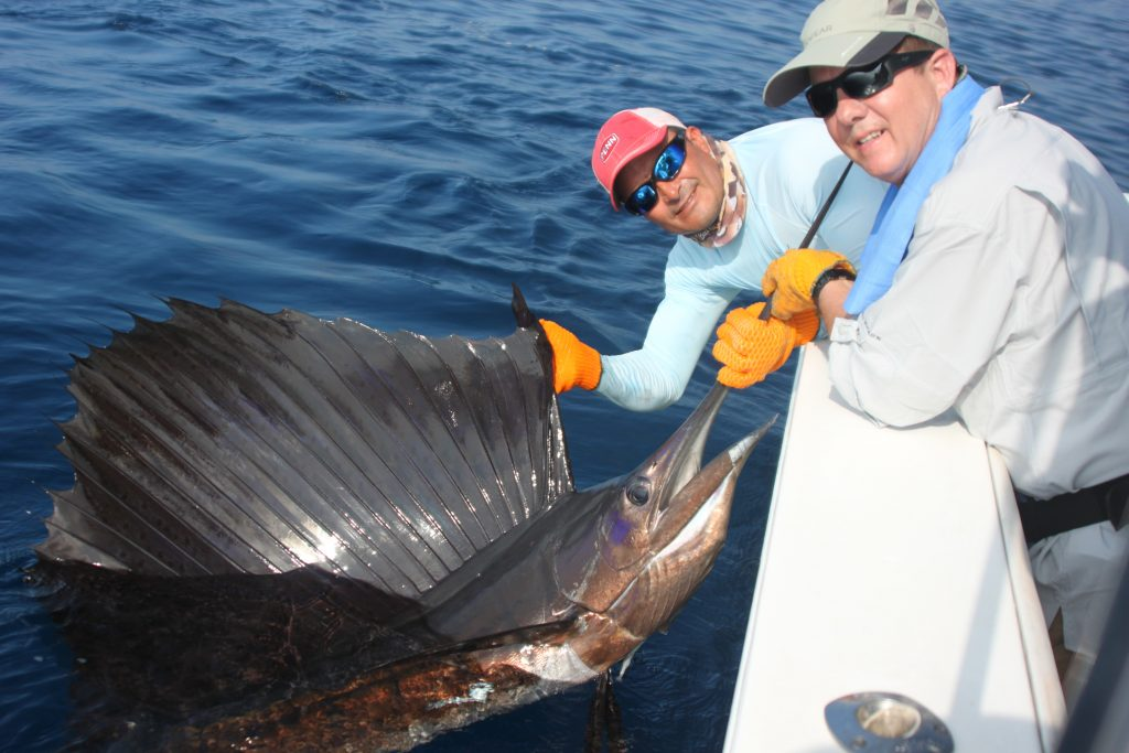 Ken Sailfish Costa Rica Fishing Trip