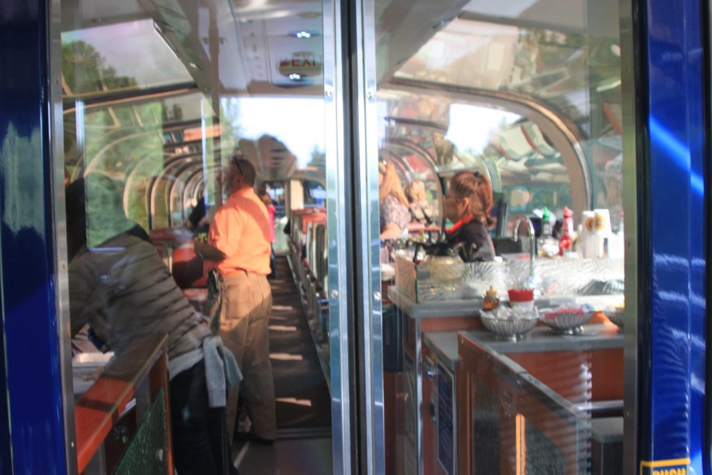 Luxurious Fishing Vacations Alaska Train Dome Car