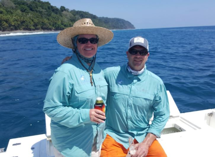 Rob and Lisa Costa Rica Fishing Trip