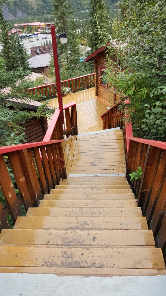 Denali National Park Crows Nest Stairs
