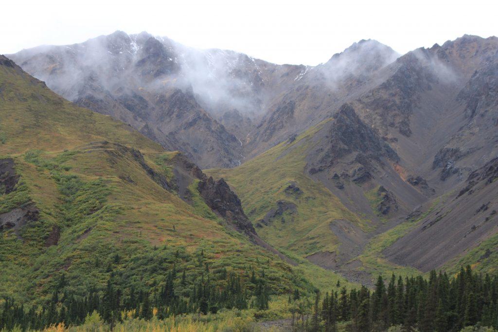 Denali National Park ravine