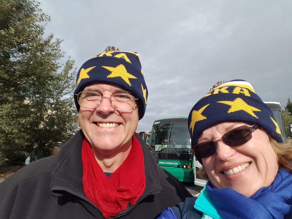 Denali National Park Lisa and Bill